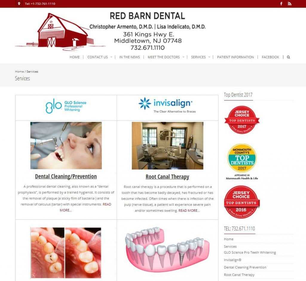 RedBarnDental-Services