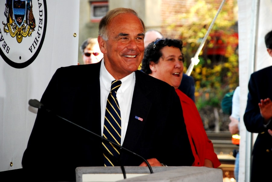 Governor Rendell, Pennsylvania