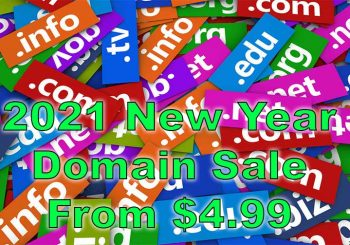 domain name registration sale